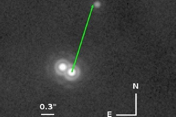 Extrémne veľká planéta pri dvojhviezde 2MASS0103(AB).
