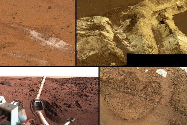 Pôda na Marse má rôzne zloženie. Curiosity nabral vrchnú vrstvu a preskúmal jej zložky. Výsledkom bola organika.