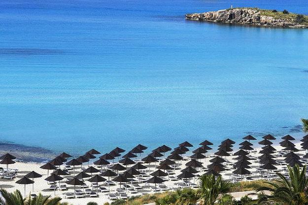 Nissi beach.