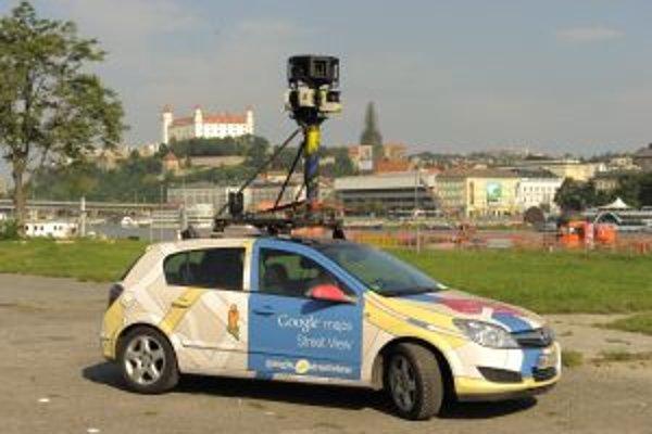 Foto auto pre službu Google StreetView.