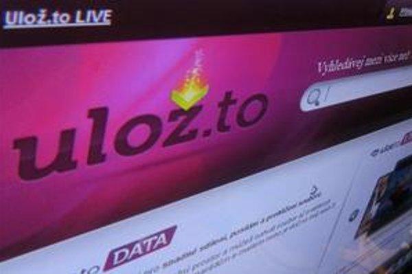 Server Ulož.to ponúka 13 miliónov súborov.