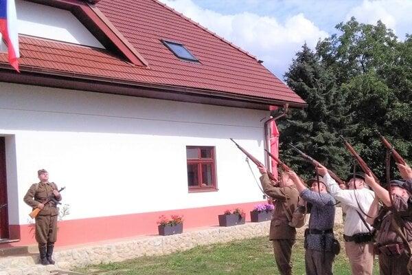 Samčíkov dom v Sklabini.