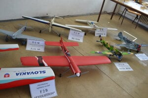 Letecké modely.