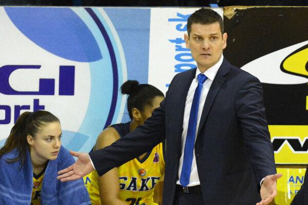 Peter Jankovič počas pôsobenia v Good Angels Košice.