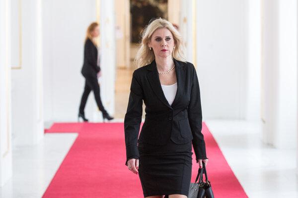 Monika Jankovská v roku 2016.