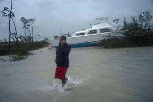Bahamy pustošil silný hurikán.