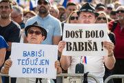 Žalobu podala jedna z účastníčok demonštrácií usporiadaných spolkom Milión chvíľok pre demokraciu.