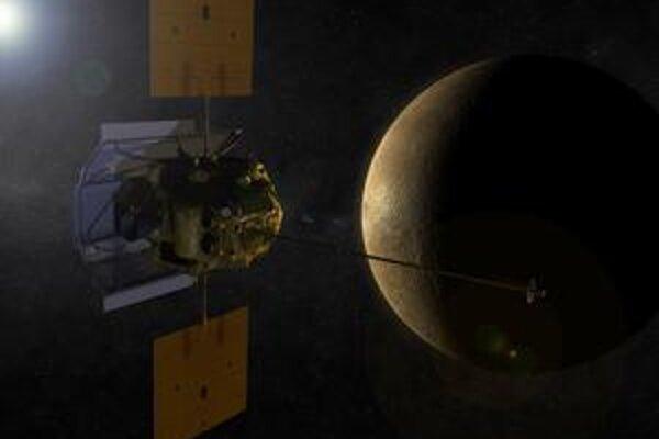 Americká sonda Messenger by mala byť prvou, ktorá bude krúžiť okolo planéty Merkúr.