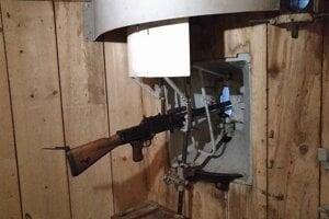 Stachelberg - interiér bunkru pri pevnosti