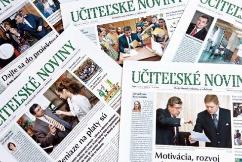 Učiteľské noviny