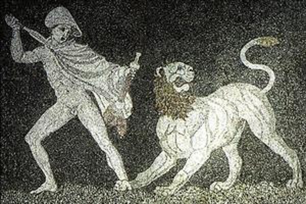 Alexander na mozaike z 3. storočia pred n. l.