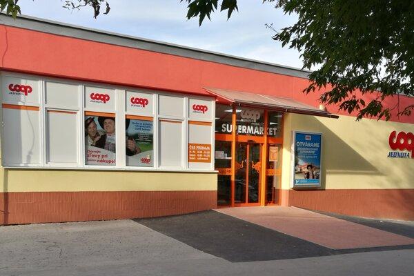 Obnovená predajňa COOP Jednoty v Prešove.