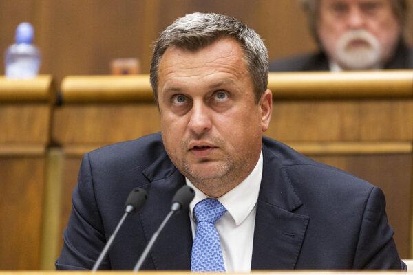 Predseda parlamentu Andrej Danko.