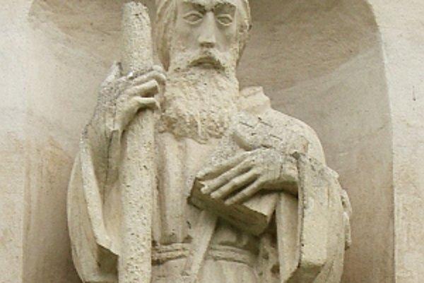 Socha sv. Svorada.