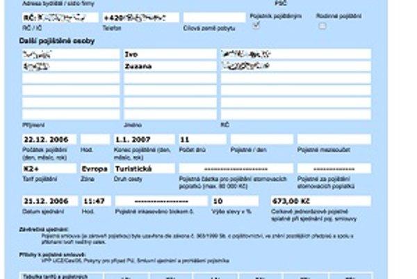 Z uniknutých dát poisťovne Uniqa sa dalo dostať až priamo ku konkrétnym zmluvám klientov. Firma zvažuje podanie trestného oznámenia.