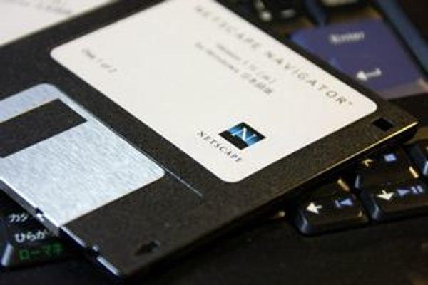 Spomienka na časy Netscapu - surfovalo sa na ňom najviac v časoch, keď internet iba začínal.
