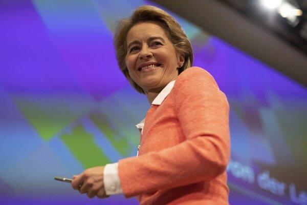 Budúca predsedníčka Európskej komisie Ursula von der Leyenová.