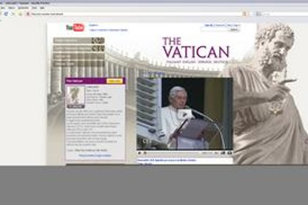 Vatikánska stránka na Youtube.