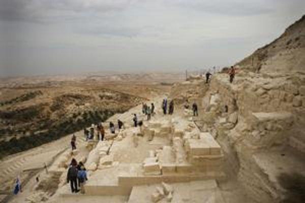 Pevnosť Herodium.
