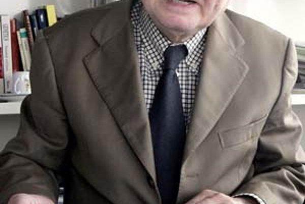 Luc Montagnier. Robert Gallo v apríli 1984 (Ddole)