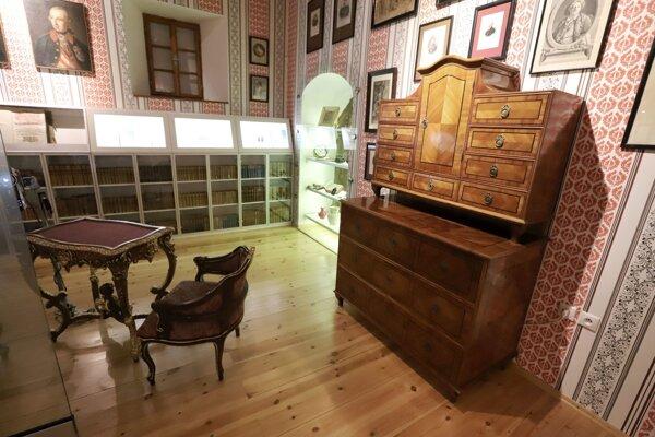 Pamätná izba rodiny Ostrolúckych v Lesníckom a drevárskom múzeu.