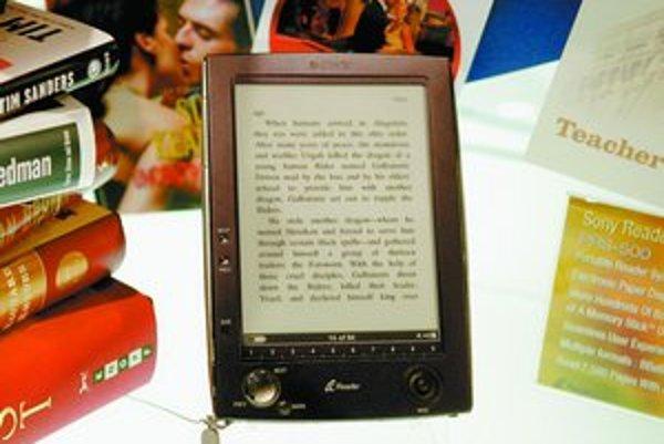 Čítačka kníh od Sony vyzerá ako PDA, ale displej nespotrebúva žiadnu energiu.