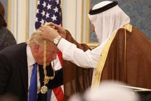 Saudská Arábia sa môže spoľahnúť na pomoc Donalda Trumpa.