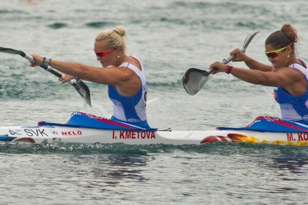 Ivana Kmeťová a Martina Kohlová.