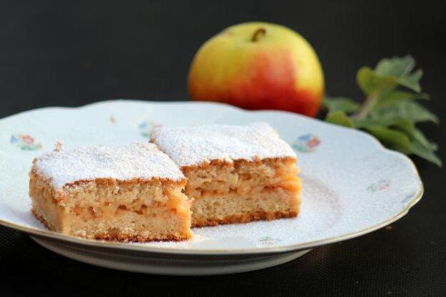 Jablkové pité bez miesenia a vaľkania
