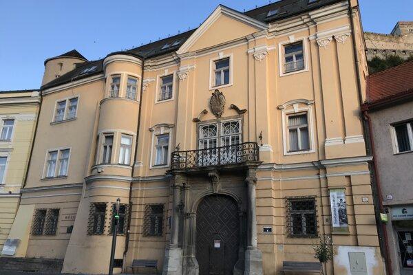 Budova bývalého Župného domu.