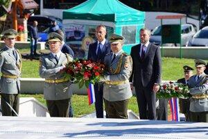 Oslavy 75. výročia oslobodenia Kalinova.
