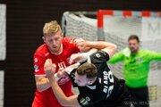 Považskobystričan Ivanytsia (v červenom) dal bývalým spoluhráčom desať gólov.