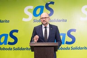 Šéf SaS Richard Sulík