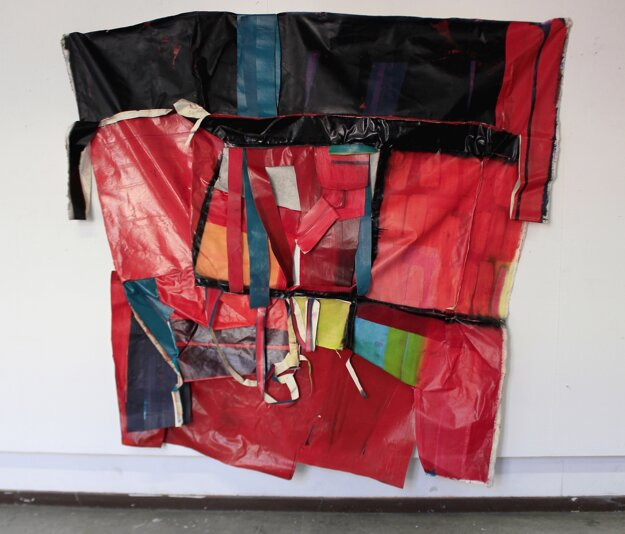 Dielo The Immense dept Lucie Oleňovej, ktoré sa stalo víťazom 14. ročníka Maľba 2019