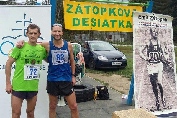 Ján Jurčík (vľavo) a Peter Tichý st.
