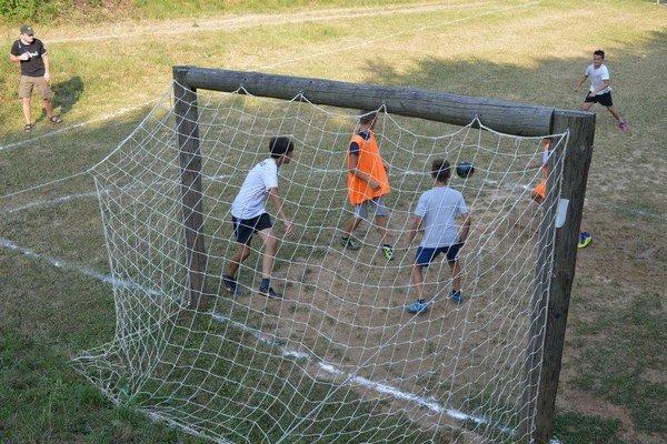 Ihrisko Nad Cigáňom patrilo mladým futbalistom.