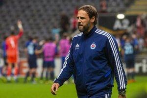 Ján Kozák mladší po zápase Sporting Braga - Slovan Bratislava.