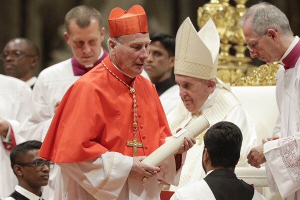 Jeden z nových kardinálov, Michael Louis Fitzgerald.