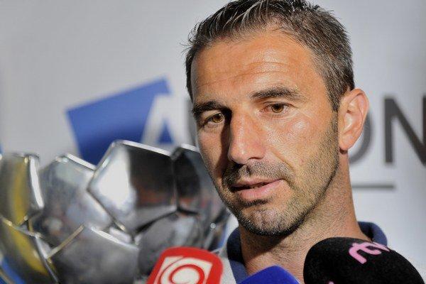 Tréner AS Trenčín Martin Ševela.