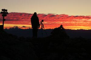 Ráno lovíme východ slnka.