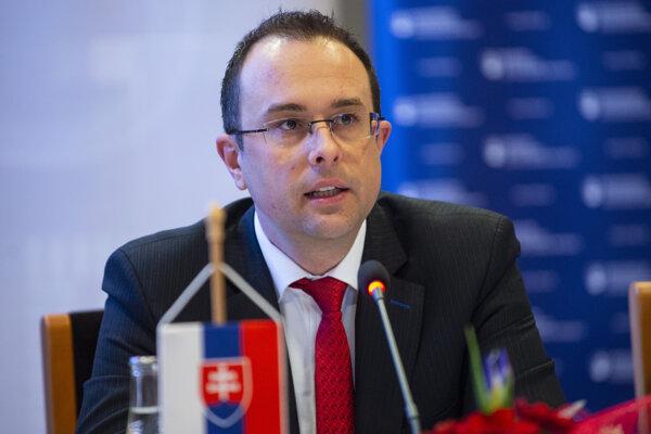 Štátny tajomník Ministerstva hospodárstva SR Rastislav Chovanec.