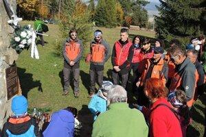 Obete horských nešťastí v Slovenskom raji si pripomínajú každým rokom.