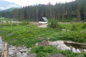 Novú nádrž má napĺňať riečka Zadná voda.
