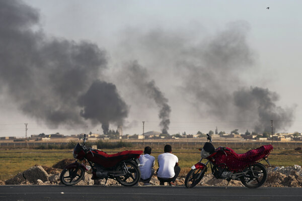 Útoky začali. Foto: SITA/AP