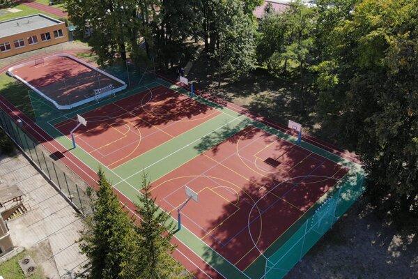 Nový športový areál.