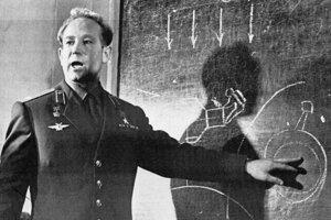 Alexej Leonov v Moskve v roku 1965.