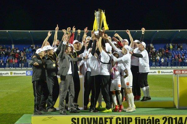 Trenčín získal národný pohár po 27 rokoch.