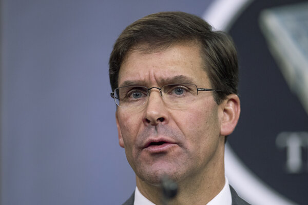 Americký minister obrany Mark Esper.
