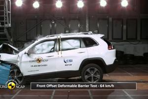Euro NCAP: Jeep Cherokee