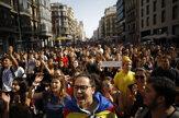 Katalánci zablokovali cesty na protest proti odsúdeniu separatistických lídrov